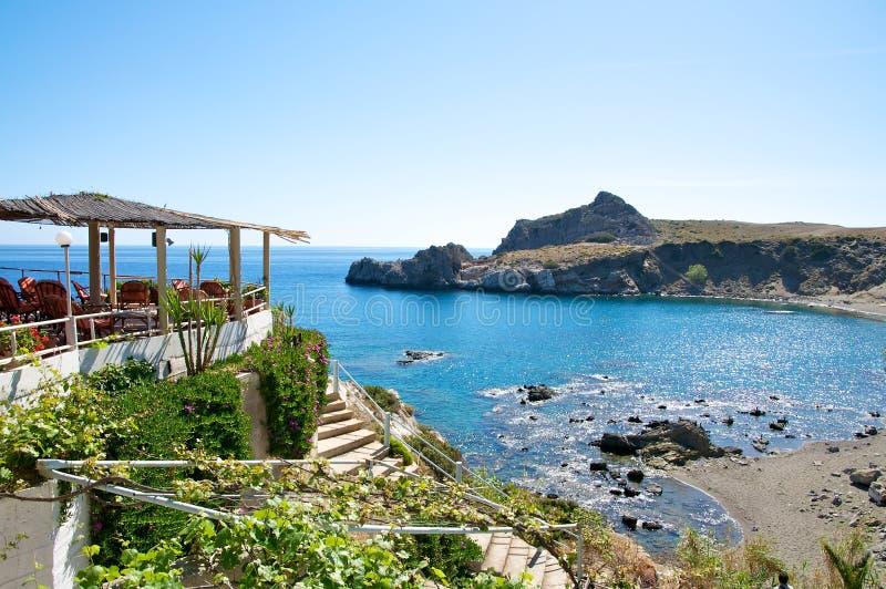 Agios Pavlos, Crete fotografía de archivo