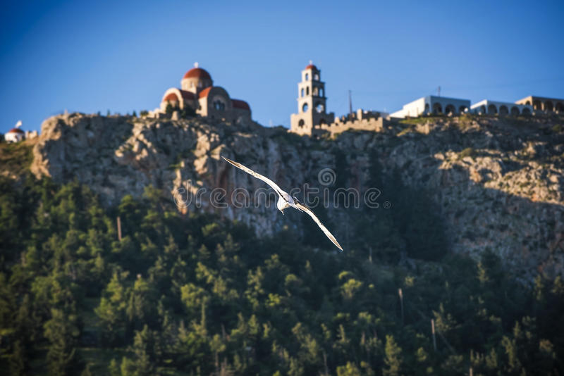 Agios Savvas, Kalymnos photo stock