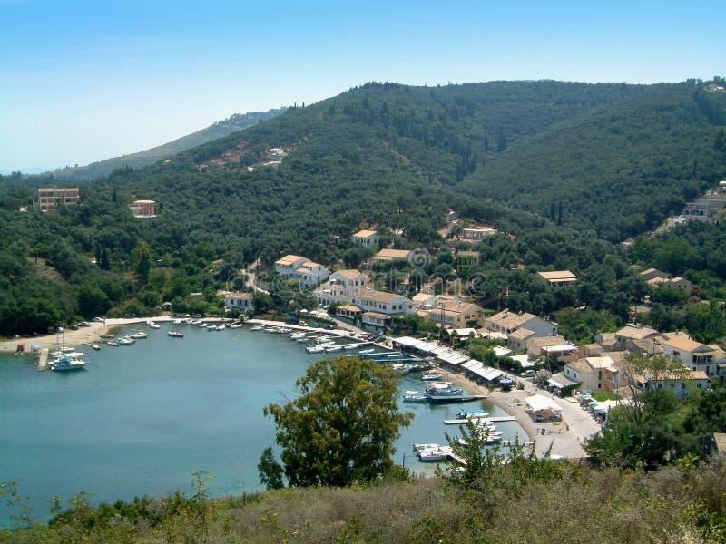 Agios Stephanos. Corfu royalty free stock images