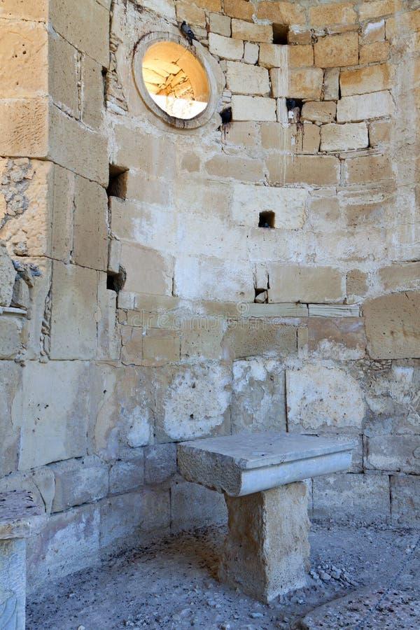 Agios Titos på den Crete ön, Grekland royaltyfri fotografi