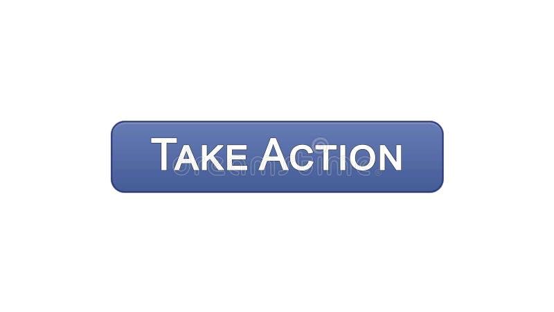 Agisca a bottone dell'interfaccia di web il colore viola, la progettazione del sito internet, la direzione royalty illustrazione gratis