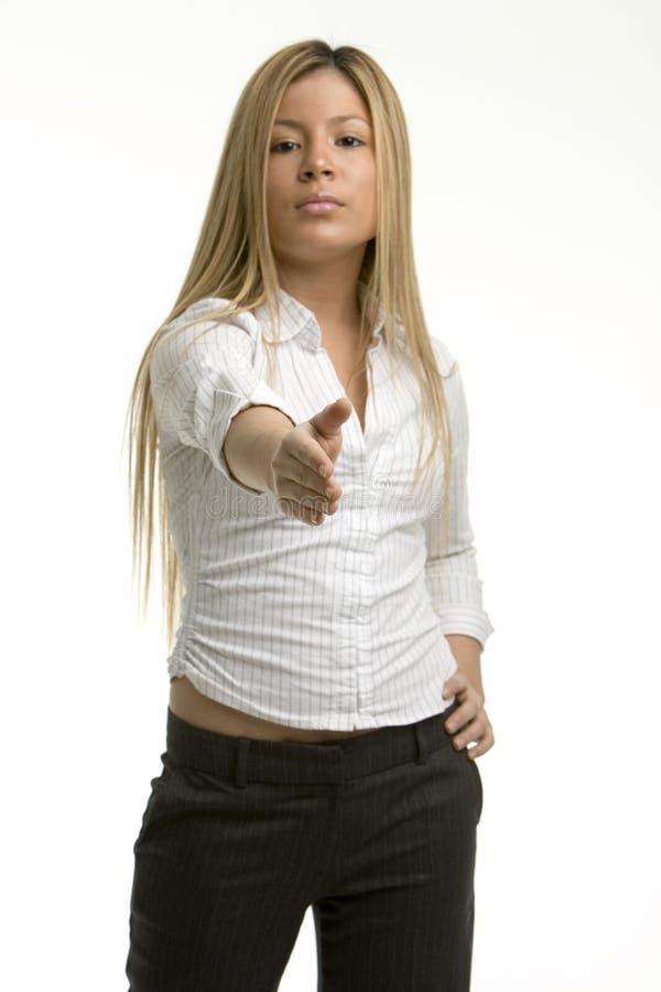 Download Agitação Da Mão - Foco Na Mão Imagem de Stock - Imagem de raça, cumprimente: 533311