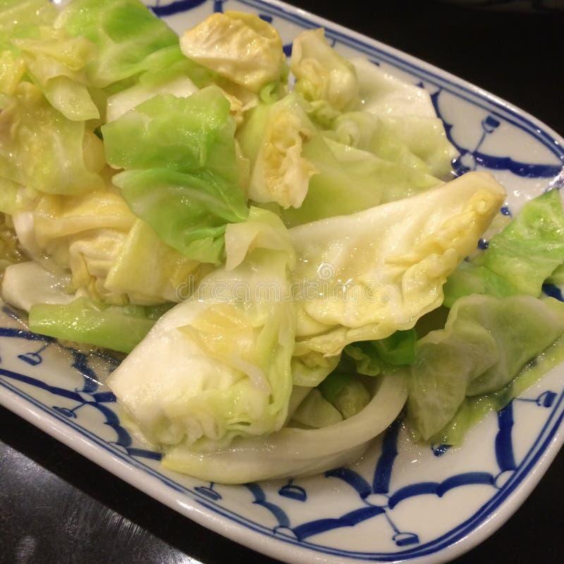Agitación Fried Cabbage fotografía de archivo