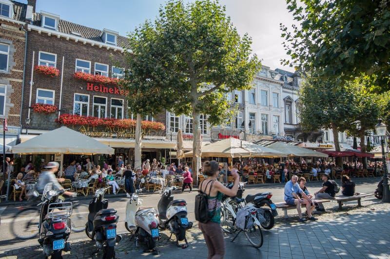 Agitarsi Maastricht fotografie stock libere da diritti