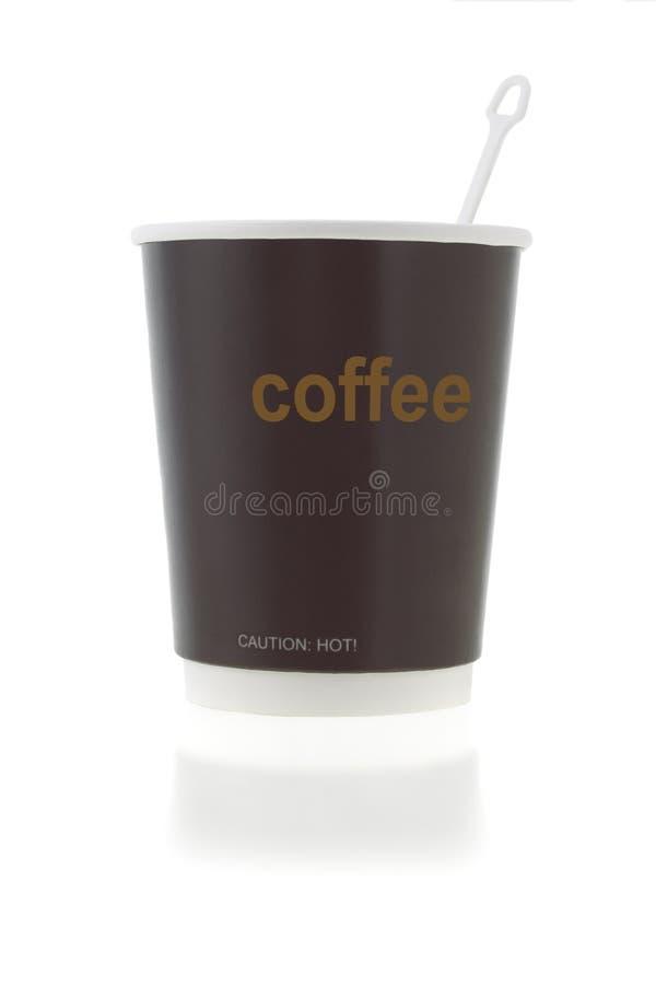 agitateur de cuvette de café photographie stock