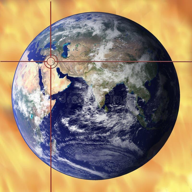 Agitazione globale illustrazione vettoriale