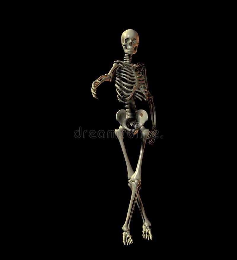 Download Agite as mãos ilustração stock. Ilustração de doente, esqueletal - 54748
