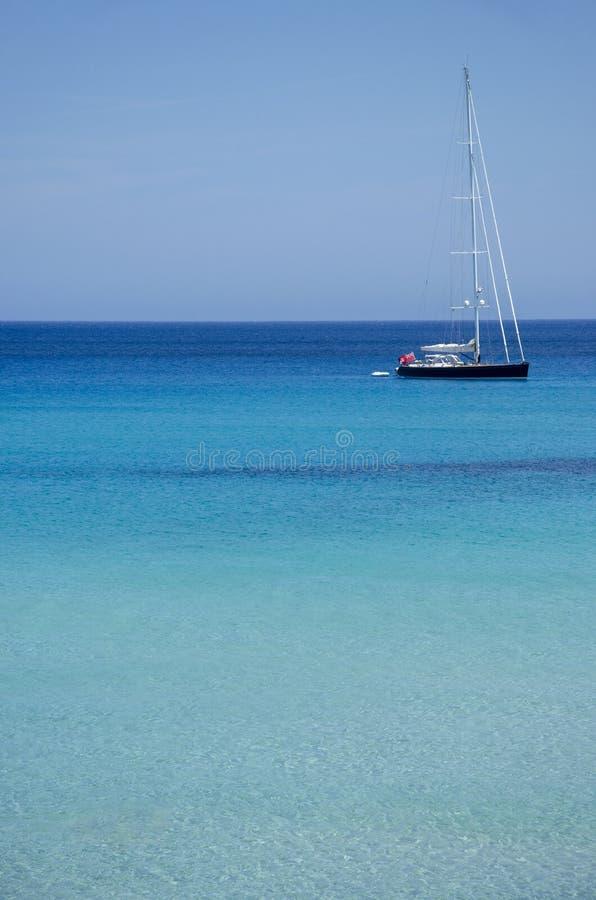 ?agl?wka cumuj?ca w spokoju krysztale i - jasne wody Majorca, Balearic wyspy, Hiszpania europejczycy zdjęcia royalty free