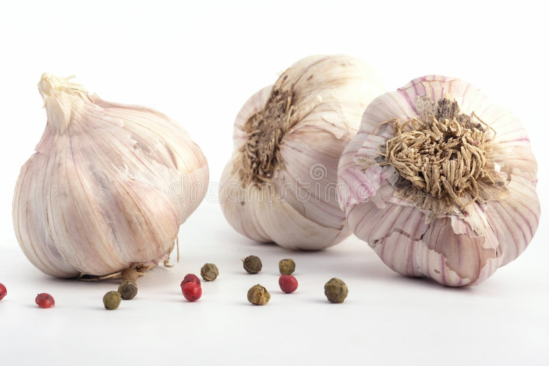 Download Aglio fotografia stock. Immagine di sapore, garlics, lampadina - 222010