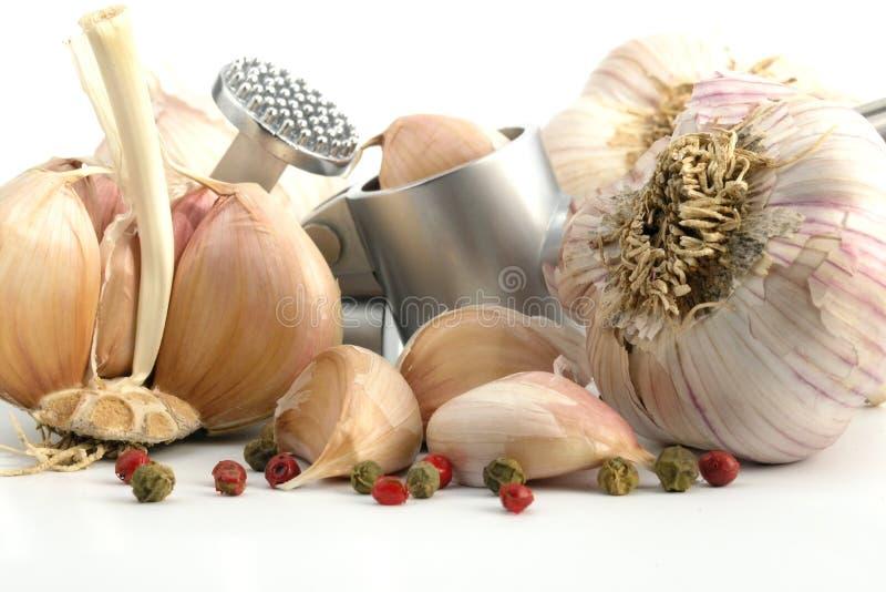 Download Aglio immagine stock. Immagine di erbe, alimento, sapore - 222015