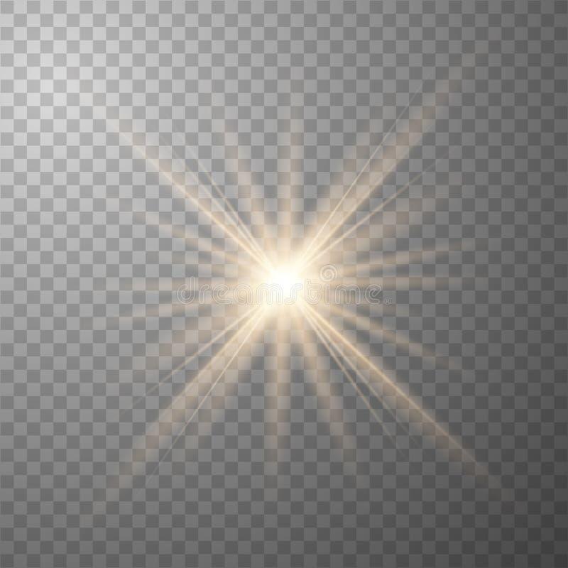 153aGlowGold royalty illustrazione gratis