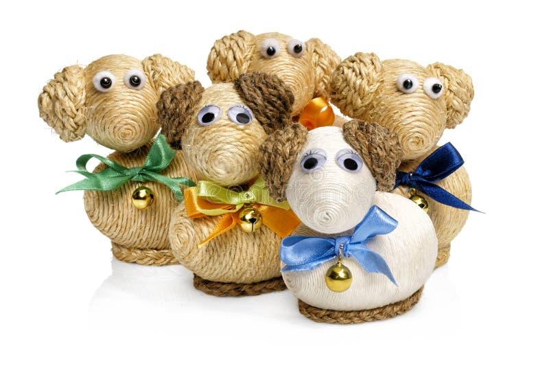 Agneaux de Pâques photo stock