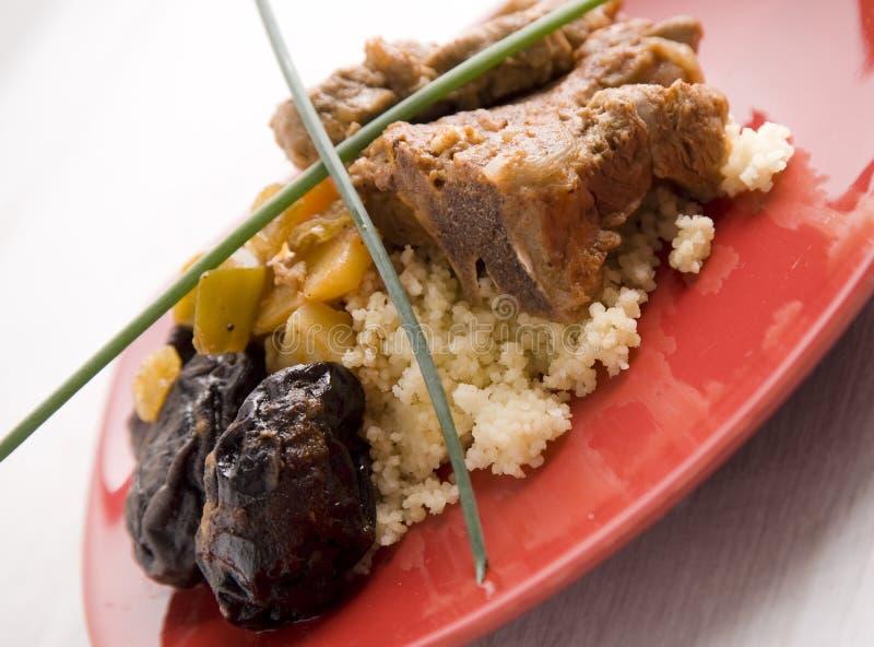 Agnello del cuscus fotografia stock libera da diritti
