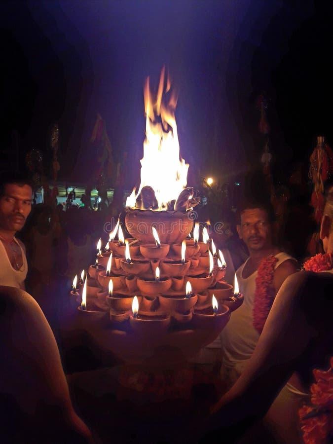 Agni bogini ogień obraz stock