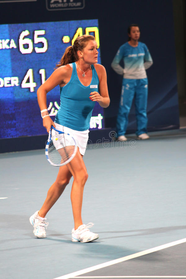 Download Agnieszka Radwanska (POL), Tennis Player Editorial Photography - Image: 11716062