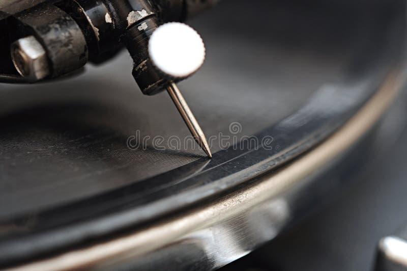 Ago del grammofono fotografia stock libera da diritti