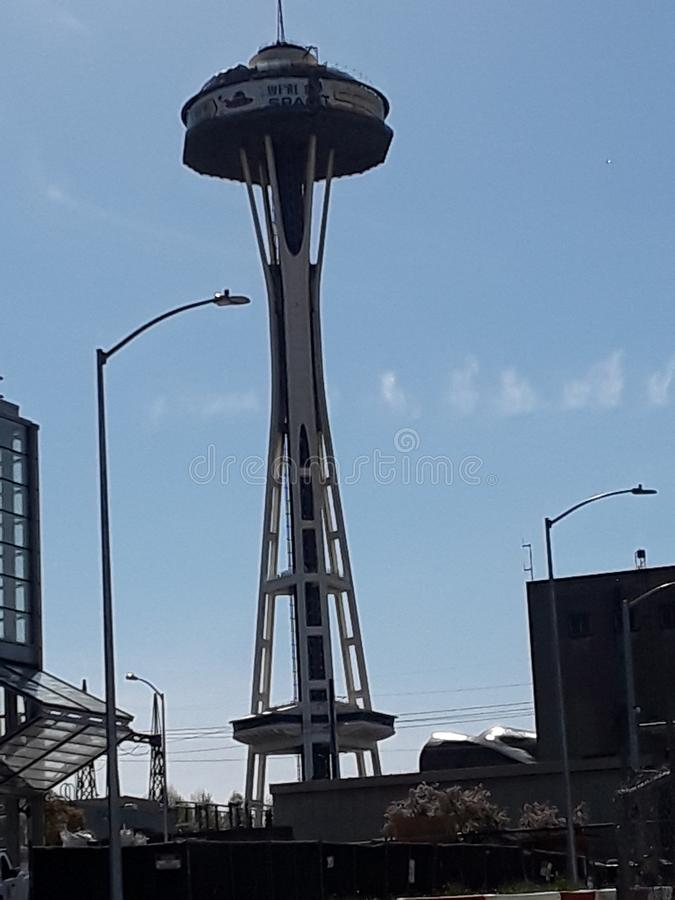Ago dello spazio di Seattle fotografia stock libera da diritti