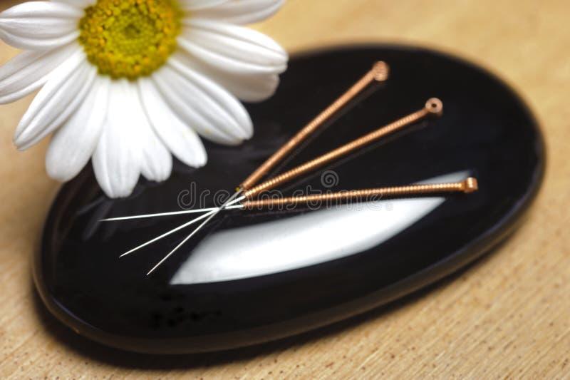 Agopuntura fotografie stock
