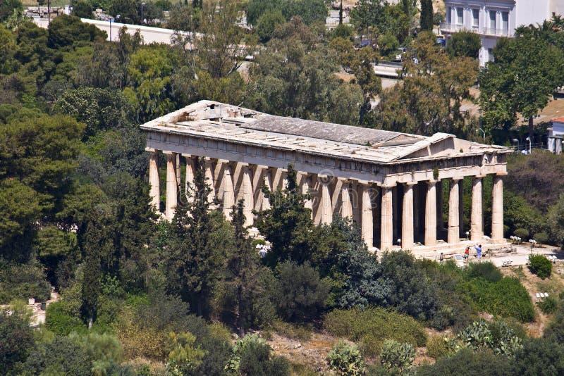 agora стародедовский athens Греция стоковые изображения rf