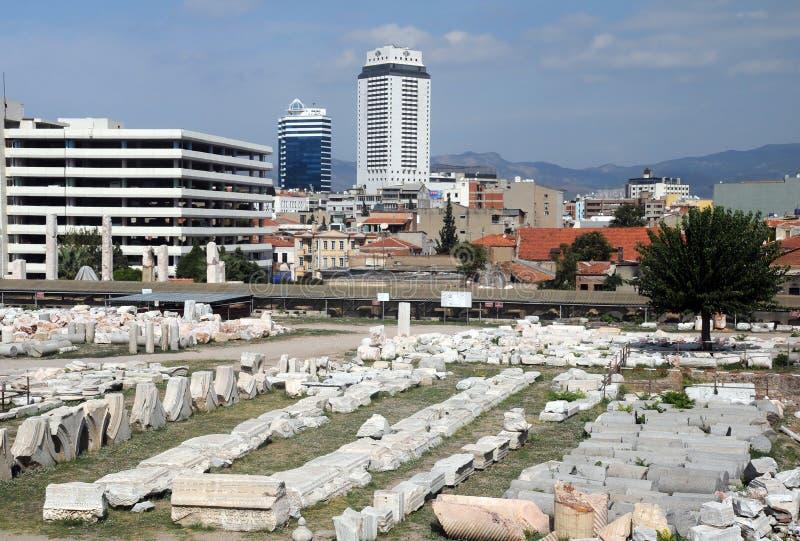 Agora стародедовский Izmir Стоковое Изображение