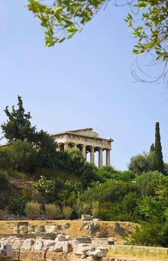 Agora antique à Athènes, Grèce photos stock
