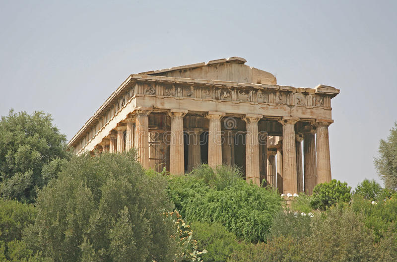 Agora Antique, Athènes Image libre de droits