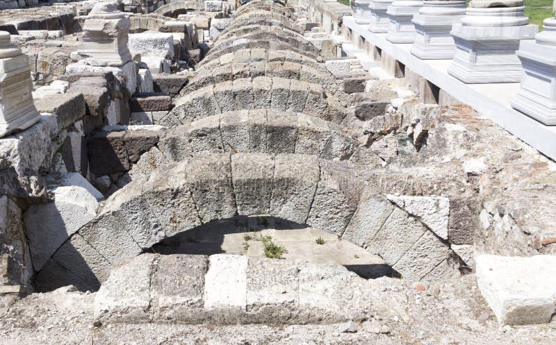 Agora di Smyrna immagine stock libera da diritti