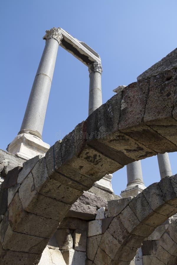 Agora di Smyrna, Smirne in Turchia immagine stock