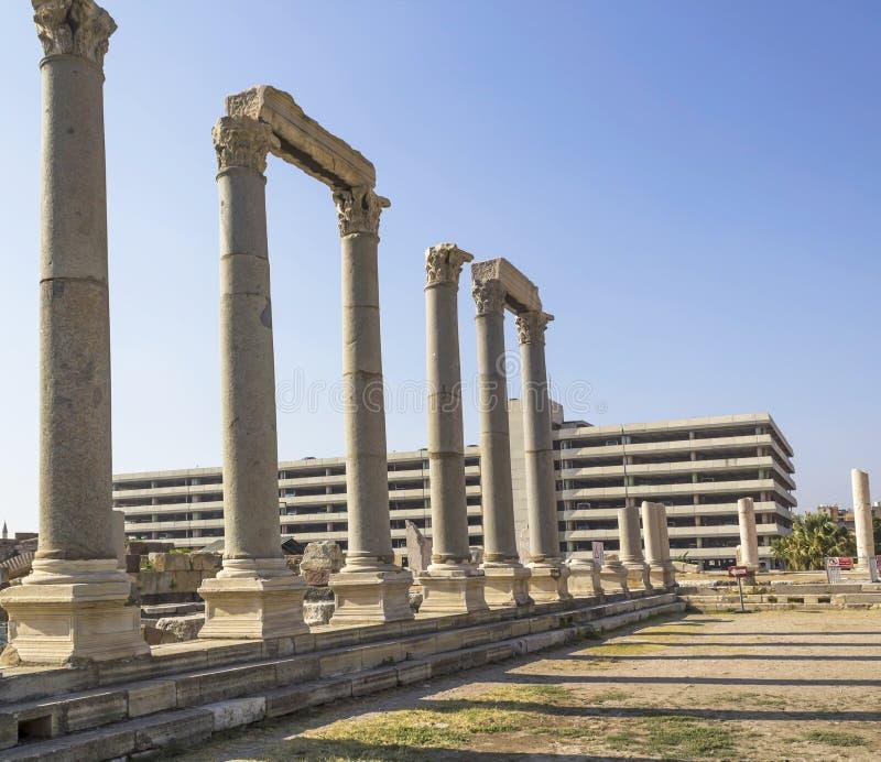 Download Agora of Smyrna stock image. Image of greece, history - 37562117