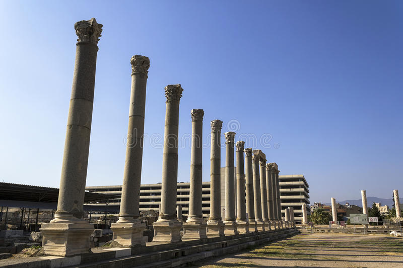 Download Agora of Smyrna stock photo. Image of destinations, feature - 34924610