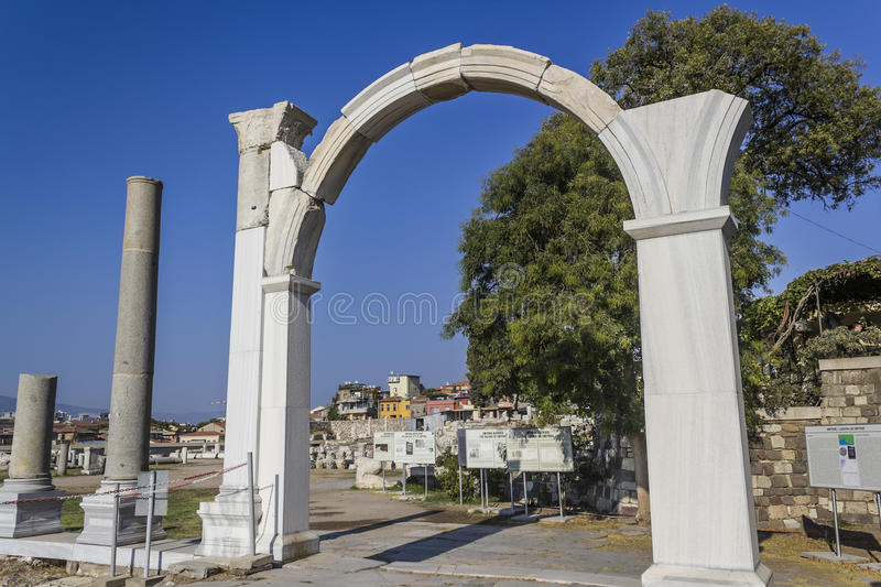 Download Agora of Smyrna stock photo. Image of colonnade, civilization - 36465988