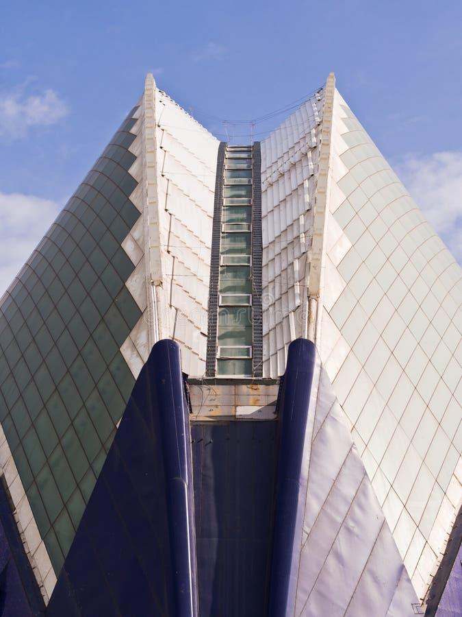 Agora, Stad van Kunsten en Wetenschappen, Valencia royalty-vrije stock foto's