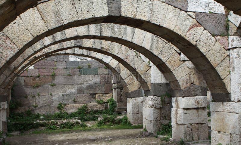 Download Agory smyrna obraz stock. Obraz złożonej z budowa, rzymski - 19080385