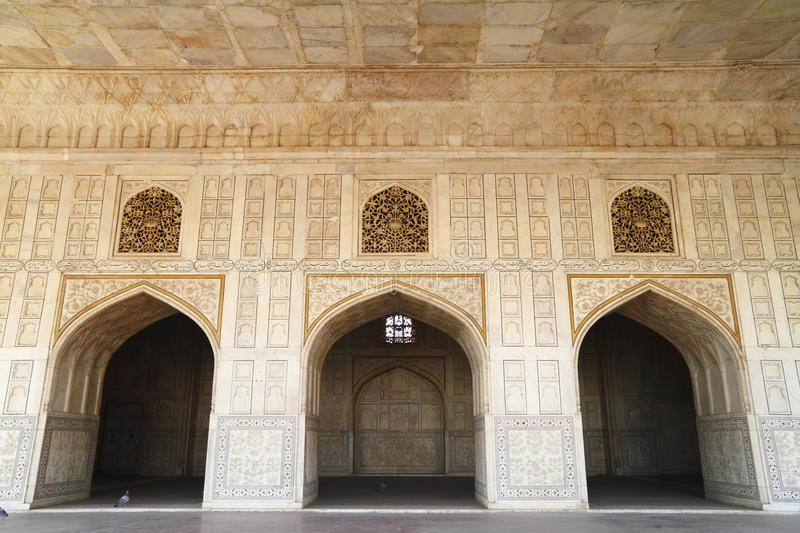 The Agra Fort Stock Image