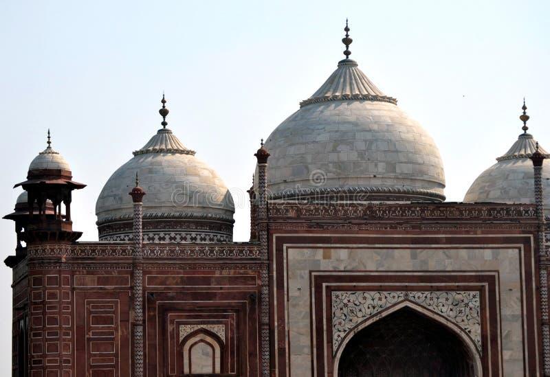 Agra fort. arkivfoton