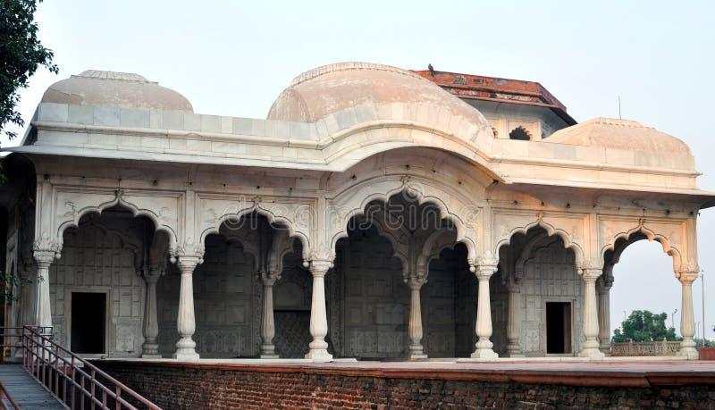 Agra fort. fotografering för bildbyråer
