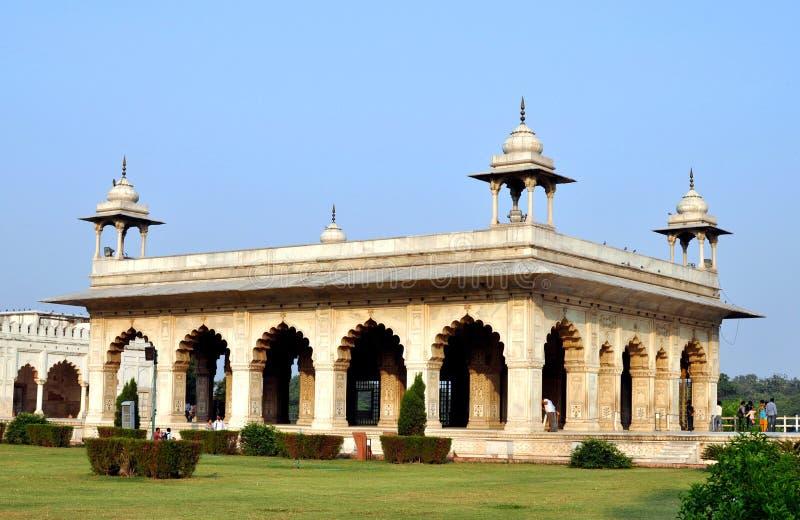 Agra fort. arkivbilder