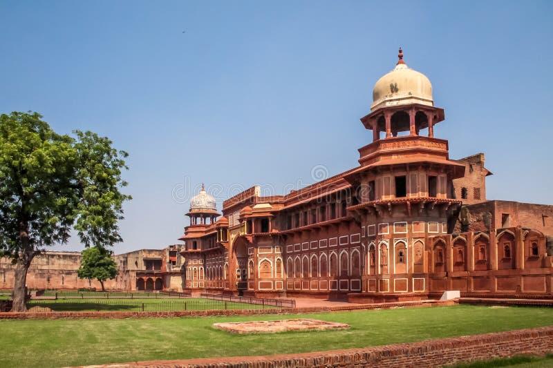 Agra fort - Agra, Indien arkivfoton