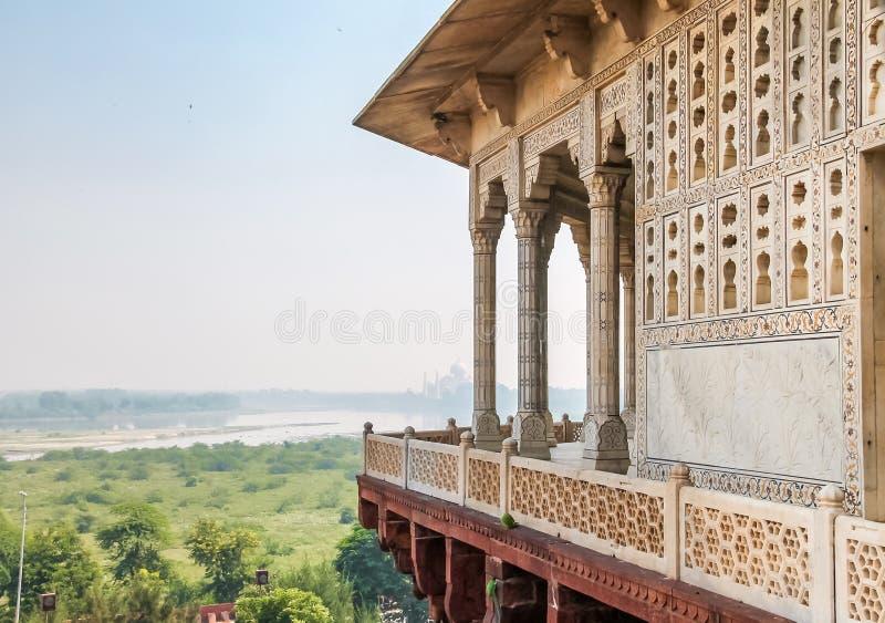 Agra fort - Agra, Indien royaltyfri foto
