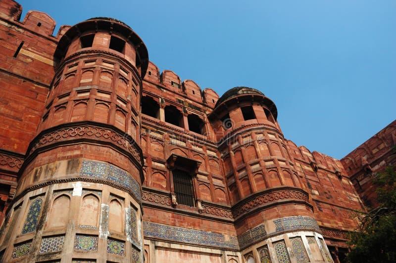 Agra Fort - famous landmark, UNESCO World Heritage,India