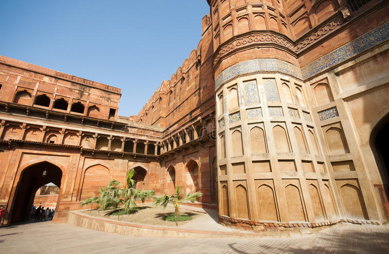 Download Agra Fort in India stock photo. Image of ancient, landmark - 25110664