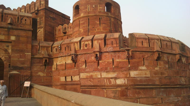 Agra fort in india royalty free stock image