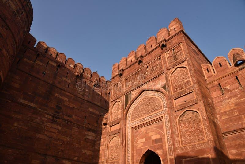 Agra-Fort, Indien stockfotografie