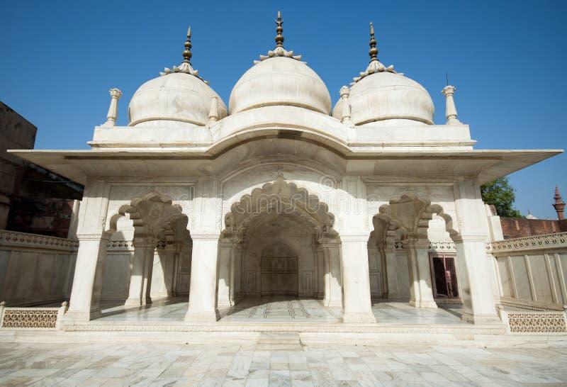 Agra-Fort in Indien lizenzfreie stockbilder