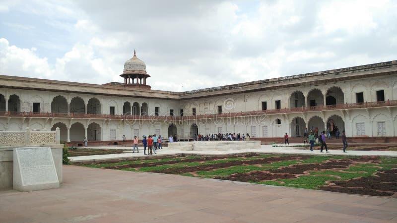 Agra-Fort Indien stockfotografie
