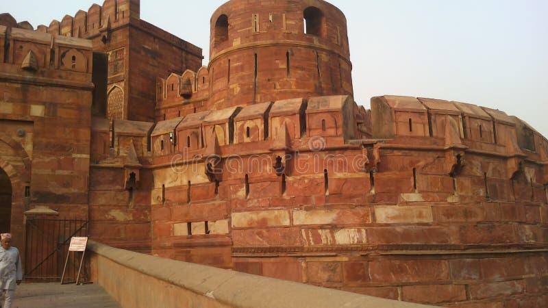 Agra-Fort in Indien lizenzfreies stockbild