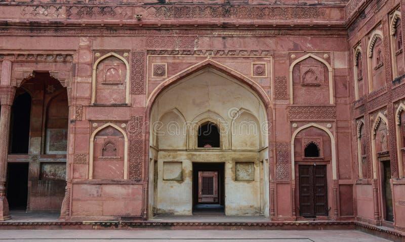 Agra fort w Agra, India fotografia royalty free