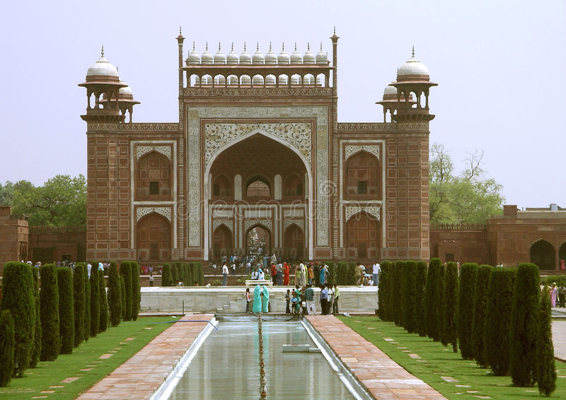 agra fortred arkivfoto
