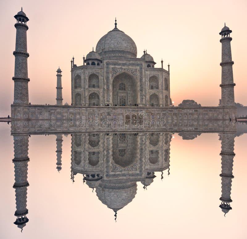 agra ind mahal pradesh zmierzchu taj uttar zdjęcie royalty free