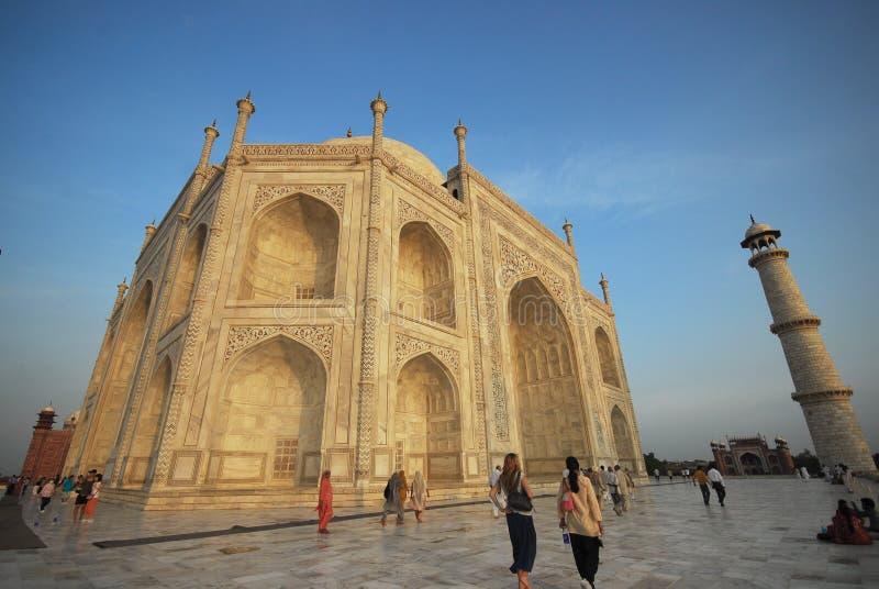 Agra la India Taj Mahal imágenes de archivo libres de regalías
